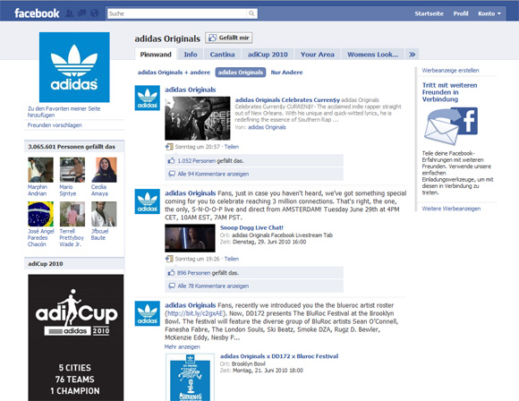 Facebook-Seite: Ein muss für eine Marke oder ein Unternehmen