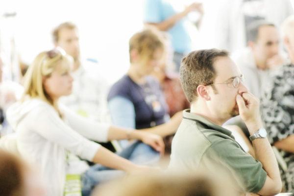 Barcamp - die Unkonferenz (Quelle flickr.com von tychay)