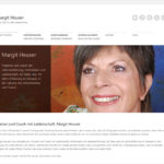 WordPress Website von Margit Heuser GmbH