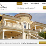 Worpress Webseite der Schlossallee Immobilien AG