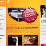 Webseite der Videokampagne Schnarchkultur