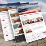 Responsive Website Norderney Ferienwohnung auf Basis WordPress