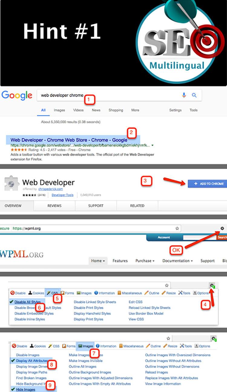 Tipp 1: Sieh deine Webseite mit den Augen von Google