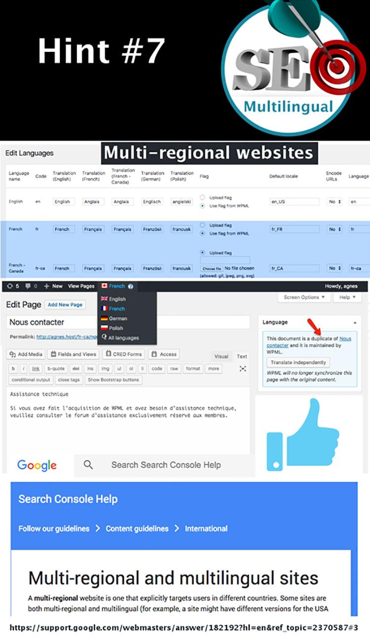 Tipp 7: Für multiregionale Webseiten kannst du duplizierte Inhalte verwenden, wenn es Sinn macht!
